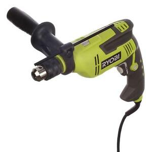 Variable Speed Hammer Drill Reversible Ryobi 6 2 Amp 5 8 In Concrete Masonry