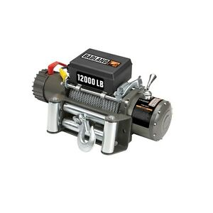 12000 Lb 6 Hp Off Road Vehicle Electric Winch Auto Load Holding Brake