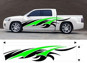 Vinyl Graphic Decal Car Truck Kit Custom Size Color Variation Mt 6 m