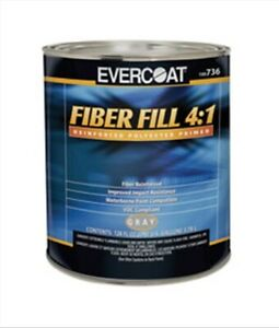 Fiber Fill 4 1 Reinforced Polyester Primer Fibre Glass evercoat 736 Fib