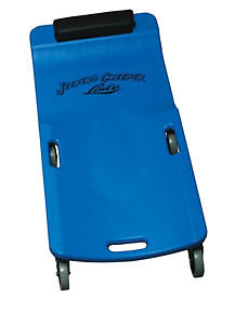 Large Wheel Plastic Creeper Blue Lisle 94032 Lis