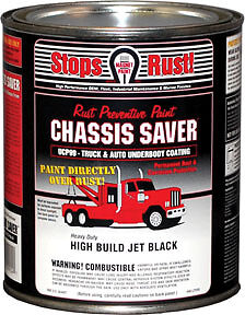 Chassis Saver Gloss Black 1 Quart Magnet Paint Co Ucp99 04 Mpc