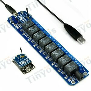 8 Channel Usb wireless 5v Relay Module Xbee Remote Control Kit
