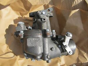 Carburetor Zenith Free Ship Bendix Updraft 2136016 Carb New Old Stock Some Rust