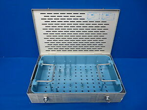 Valleylab Cusa Ultrasonic Surgical Handpiece Sterilization Case 90 Day Warranty