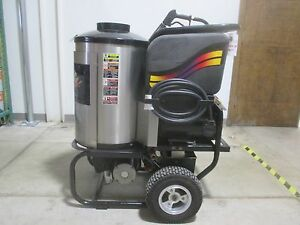 Used Aaladin 14 430ss Hot Water Pressure Washer Z2351 Gfk Tools