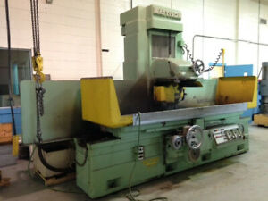 24 X 60 Chuck Mattison Automatic Hydraulic Surface Grinder