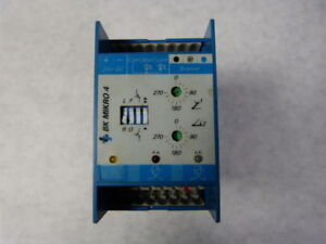Leukhardt 8 0403 04 Bk Micro 4 Time Delay Relay 24vdc Used