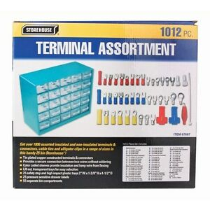 1012 Electrical Solderless Terminal Wire Connector Crimp Tool Assortment Kit