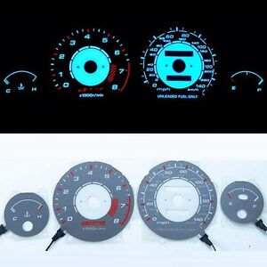 Bar Autotech Indiglo El Glow Gauge For Acura Integra Ls Rs Gs 90 93 At Mph