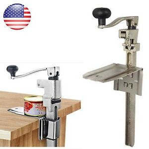 Heavy Duty Table Bench Clamp Can Opener 11in commercial Kitchen Restaurant Chef