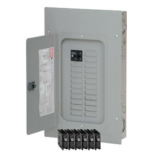 Eaton 100 amp 20 space 40 circuit Wall Main breaker Indoor Electrical panel Box