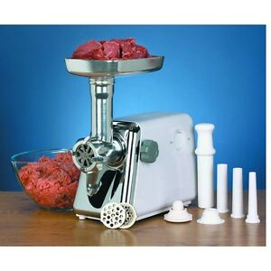 250watts Electric Multi size Meat Grinder W Stainless Steel Blade