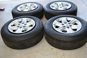 Free Shipping Chevy Traverse 17 Inch Wheel Tire Package 4 Wheels And Tires