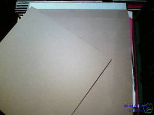 25 12 Lp Strong Brown Record Mailers 50 Stiffeners 24 H Delivery