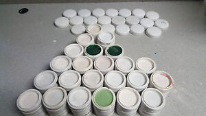 Big Lot Of 230 Dental Porcelain Wax Trays With 21 Covers