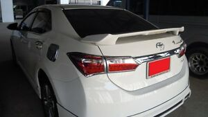 Rear Spoiler With Led Light For All New Toyota Corolla Altis 2014 2015 2016