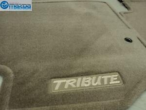 Mazda Tribute 2001 2004 New Oem Beige Carpeted Floor Mats 0000 8b G06a 22