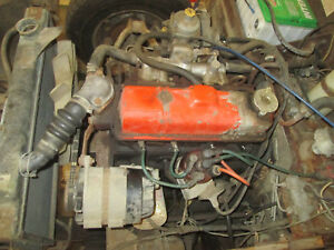 Mg Midget triumph Spitfire Engine Longblock From A 1978 Spitfire
