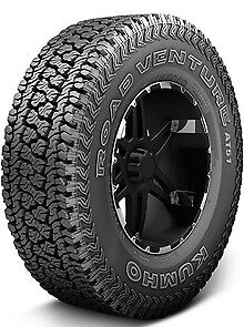 Kumho Road Venture At51 Lt285 70r17 E 10pr Bsw 4 Tires