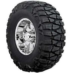 Nitto Mud Grappler 33x12 50r20 E 10pr Bsw 2 Tires