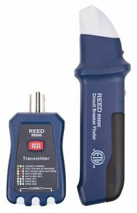 Reed Instruments R5500 3 in 1 Circuit Breaker Finder Receptacle