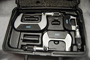 Fowler 52 229 213 0 Swiss Style Micrometer Set 0 3 0001