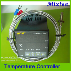 10 off 100 240vac Digital Pid Temperature Controller K Sensor 4 20ma Relay