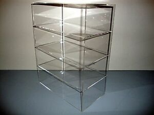 Acrylic Lucite Countertop Display Case Showcase Box Cabinet 12 X 9 1 2 X 16