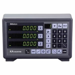 Mitutoyo 174 175a Digital Readout Counters number Of Axis 3 axis