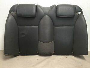 04 07 Saab 9 3 93 Convertible Seat Leather Upper Rear