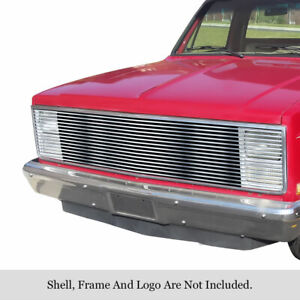 81 87 1988 1986 1985 Chevy C10 Silverado C 10 Phantom Stainless Steel Grille
