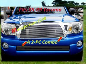 05 11 06 2005 2006 2007 2008 2009 2010 2011 Toyota Tacoma Billet Grille 2pc Comb