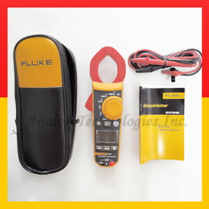 New Fluke F319 Lcd Digital Clamp Meter True rms 37mm Frequency 6000 Count W case