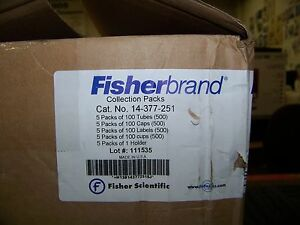 Fisher Scientific Fisherbrand Collection Packs 5 Packs