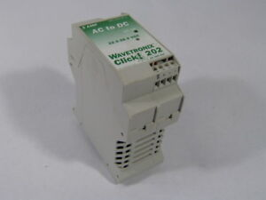 Wavetronix Click 202 100 0090 Power Converter Ac Dc 22 5 28 5vdc Used