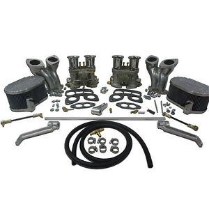 Type 1 Dual 48mm Idf Carburetor Kit W Cb Manifolds Linkage