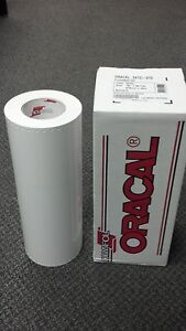 Oracal 651 1 Roll 15 x50yd 150ft White Gloss Sign Vinyl