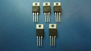 5 Pcs Q6008lh4 Teccor Thyristor Triac 600v 100a 3 pin 3 tab To 220ab Isolated