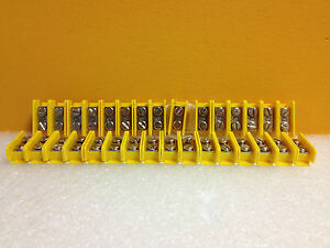 Amp te Connectivity 1 604152 1 Flexi block Terminal Blocks 31 Pcs New
