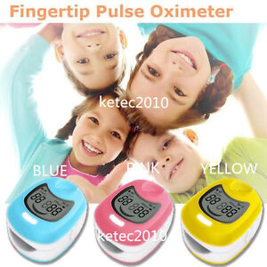 Contec Infant Child Kid Fingertip Pulse Oximeter Blood Oxygen Cute Monitor