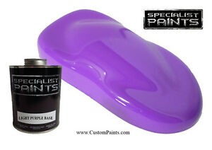 Quart Of Light Purple Base Coat Paint Motorcycle Automotive Hot Rod Ppg Hok