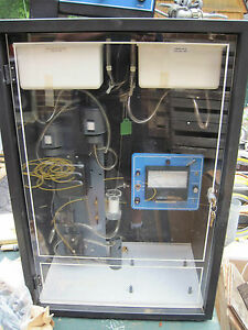New Hach Chemical Company Silica Analyzer Model 651b With Cabinet Keys N Extras