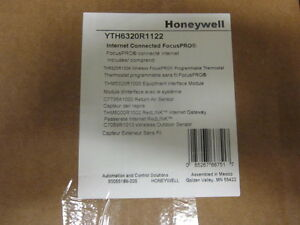 Honeywell Wireless Progr Focuspro 6000 3h 2c Thermostat Yth6320r1122