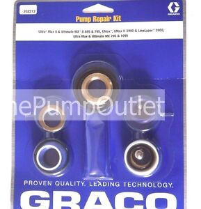 Graco 248212 Packing Kit Ultra Max Ii 695 795 Linelazer 3900 Ultra Max 1095 Oem