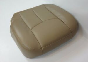 2003 2007 Gmc Sierra 1500hd 2500hd Slt Driver Synth Leather Seat Cover Tan