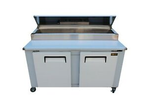 New Cooltech 2 door Refrigerated Pizza Prep Table 60