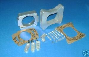 Ford Mustang Gt 1in Intake Spacer 75mm Throttle Body Spacers fits 1996 2004