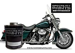 Pint Of Harley Davidson Suede Green Paint Motorcycle Automotive Ppg Hok