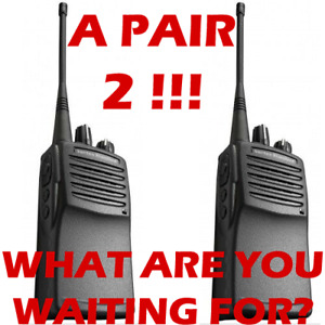 Vertex Standard Vx451 Vx450 Uhf Two Way Radios pair Used